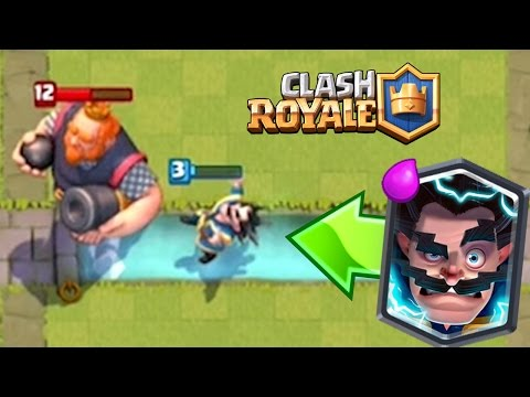 ELECTRO WIZARD WALKS ON WATER | Clash Royale | How did this Glitch Happen?