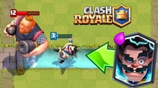 ELECTRO WIZARD WALKS ON WATER | Clash Royale |  Wizard Glitch Funny Moments