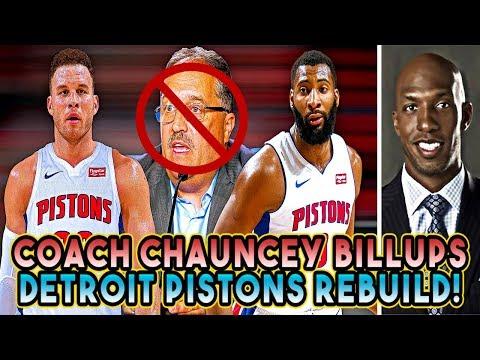 Coach Chauncey Billups! Stan Van Gundy FIRED! Rebuilding The Detroit Pistons! NBA 2K18 My League