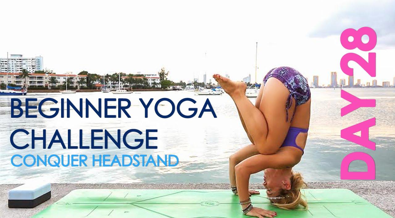 Day 28 Beginner Yoga Challenge