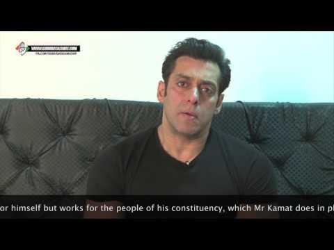 Salman Backs Gurudas Kamat