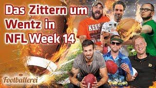 Das Zittern um Wentz & alles Weitere zur NFL Week 14   Footballerei SHOW