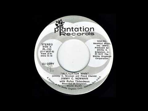 Alligator Man - Jimmy C. Newman 1977 Original Version