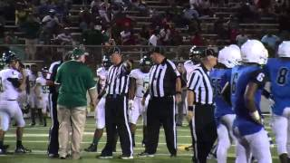 Fight breaks out on the field between John Tyler v Longview Lobos