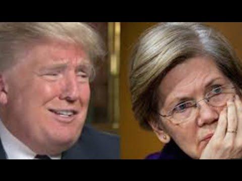 Elizabeth Warren Mauls Trump On Twitter