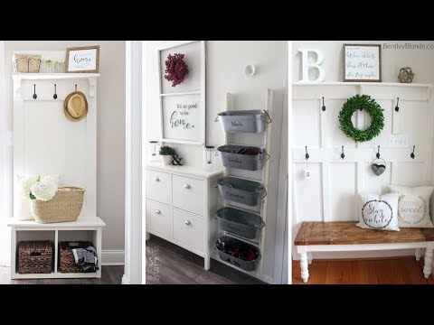 10 Awesome Mudroom Make Over Ideas Worth Trying