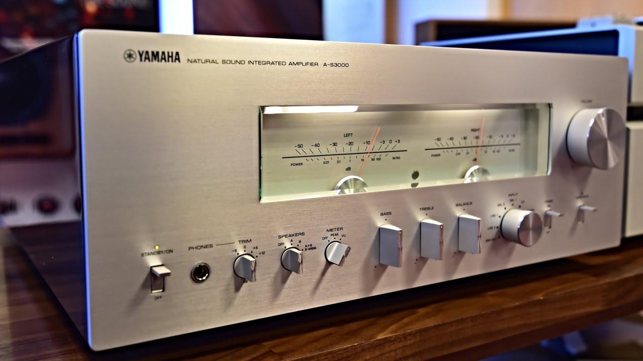 yamaha a s3000 natural sound integrated amplifier. Black Bedroom Furniture Sets. Home Design Ideas