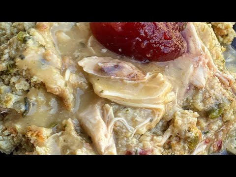 Southern Style Chicken & Dressing
