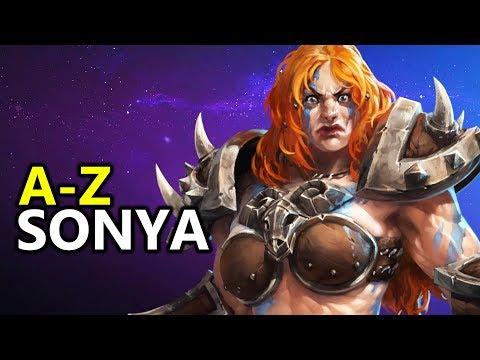 ♥ A - Z Sonya -  Heroes of the Storm (HotS Gameplay)