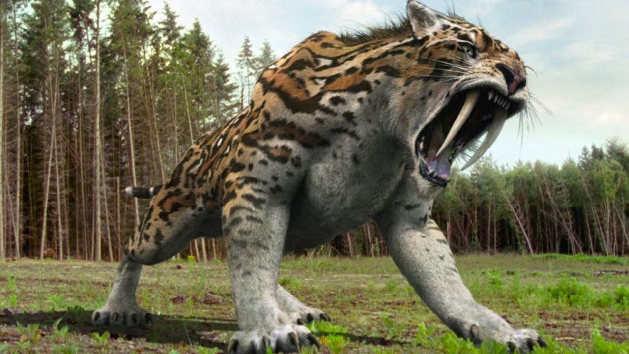15 Terrifying Animals You're Glad Are Extinct