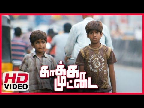 Kaakka Muttai Tamil Movie | Scenes | Karuppu Karuppu Song | GV PrakshKumar