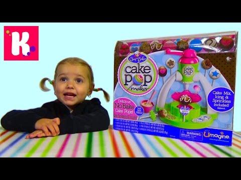 Набор для приготовления печенек на палочке Cake pop maker
