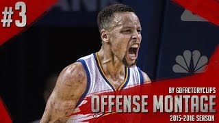 Stephen Curry EPIC Offense Highlights Montage 2015/2016 (Part 3) - CHEAT-CODE Steph!