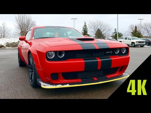 2018 Dodge Challenger Hellcat WIDEBODY | First Look (4K)