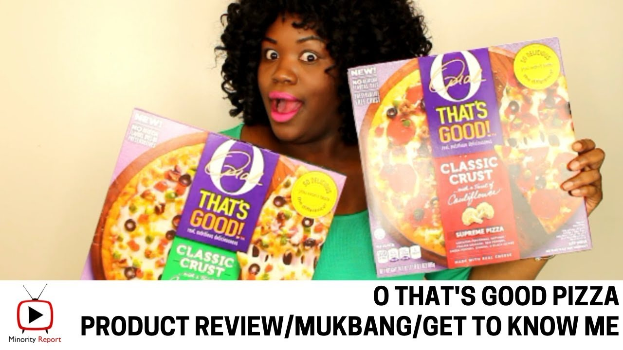 O That's Good Pizza Review/Mukbang/Get to Know Me