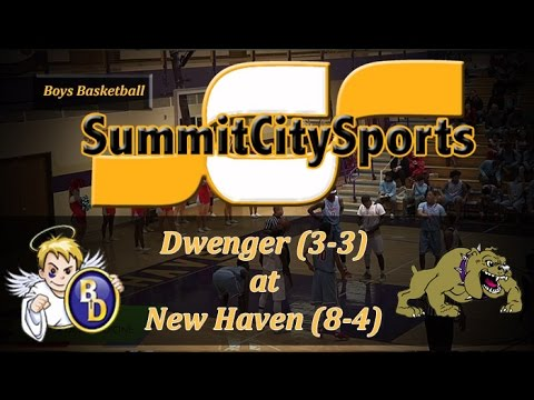 Watch Live: Bishop Dwenger at New Haven | Boys Basketball Broadcast