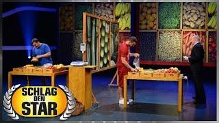 Spiel 5: Obst und Gemüse - Schlag den Star