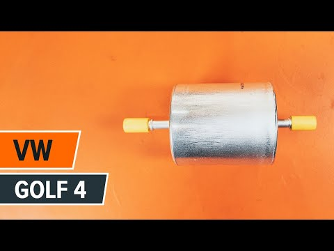 How to replace fuel filter on VW GOLF 4 TUTORIAL | AUTODOC