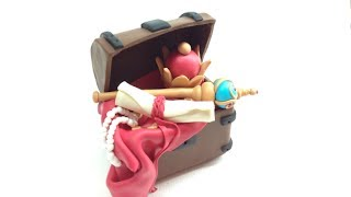 Treasure Chest/ BaÚ Do Tesouro- Polymer Clay/fimo Tutorial