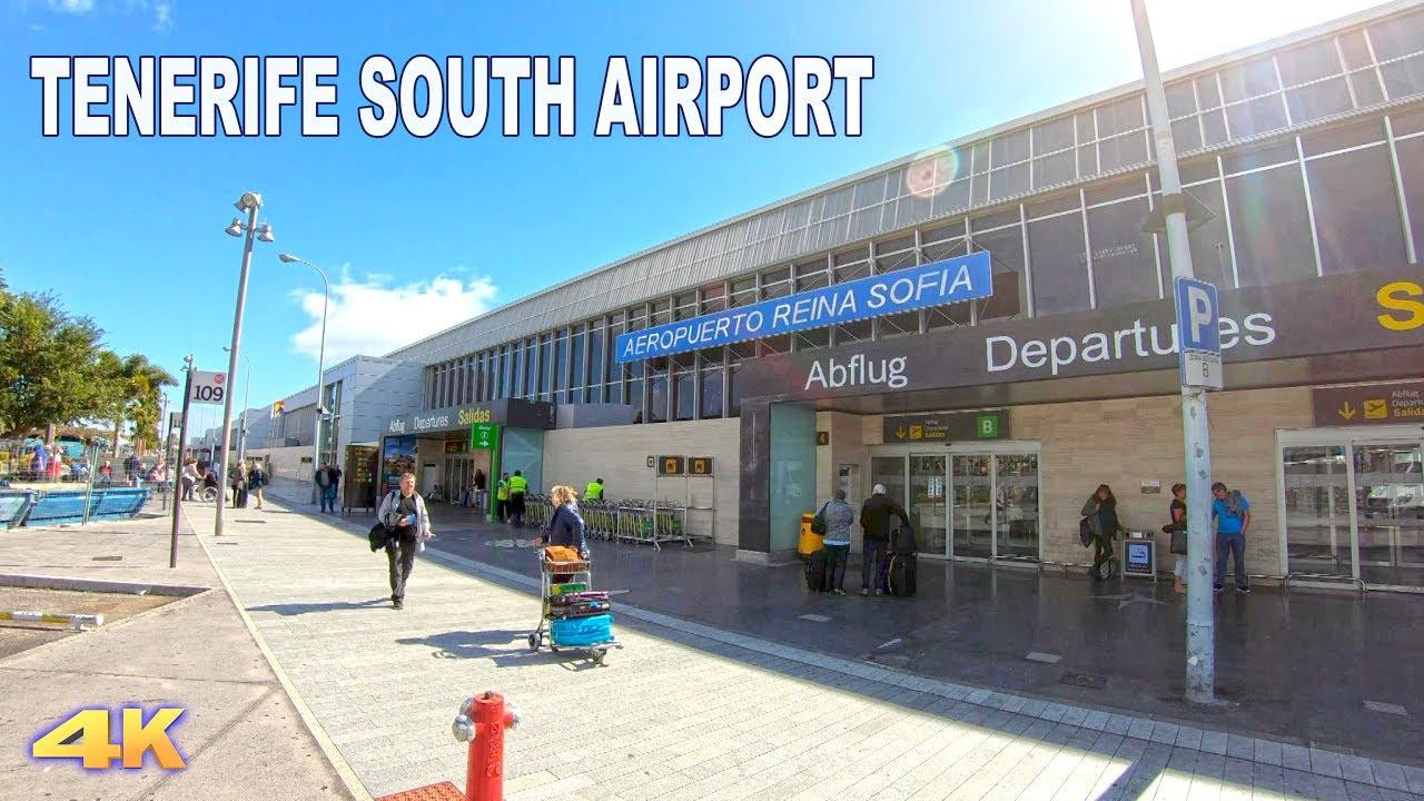 Aeroporto Tenerife Sud : Tenerife airport south reina sofia 2018 4k youtube