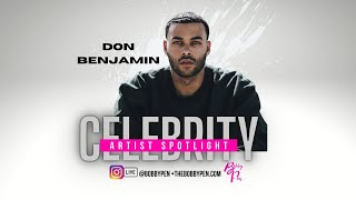 """Fashion model turned entrepreneur @don benjamin discusses the spiritual growth and healing he has documented in his new book """"my truth,"""" even breaks down..."""