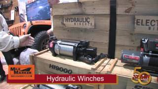 Mile Marker Hydraulic Winches