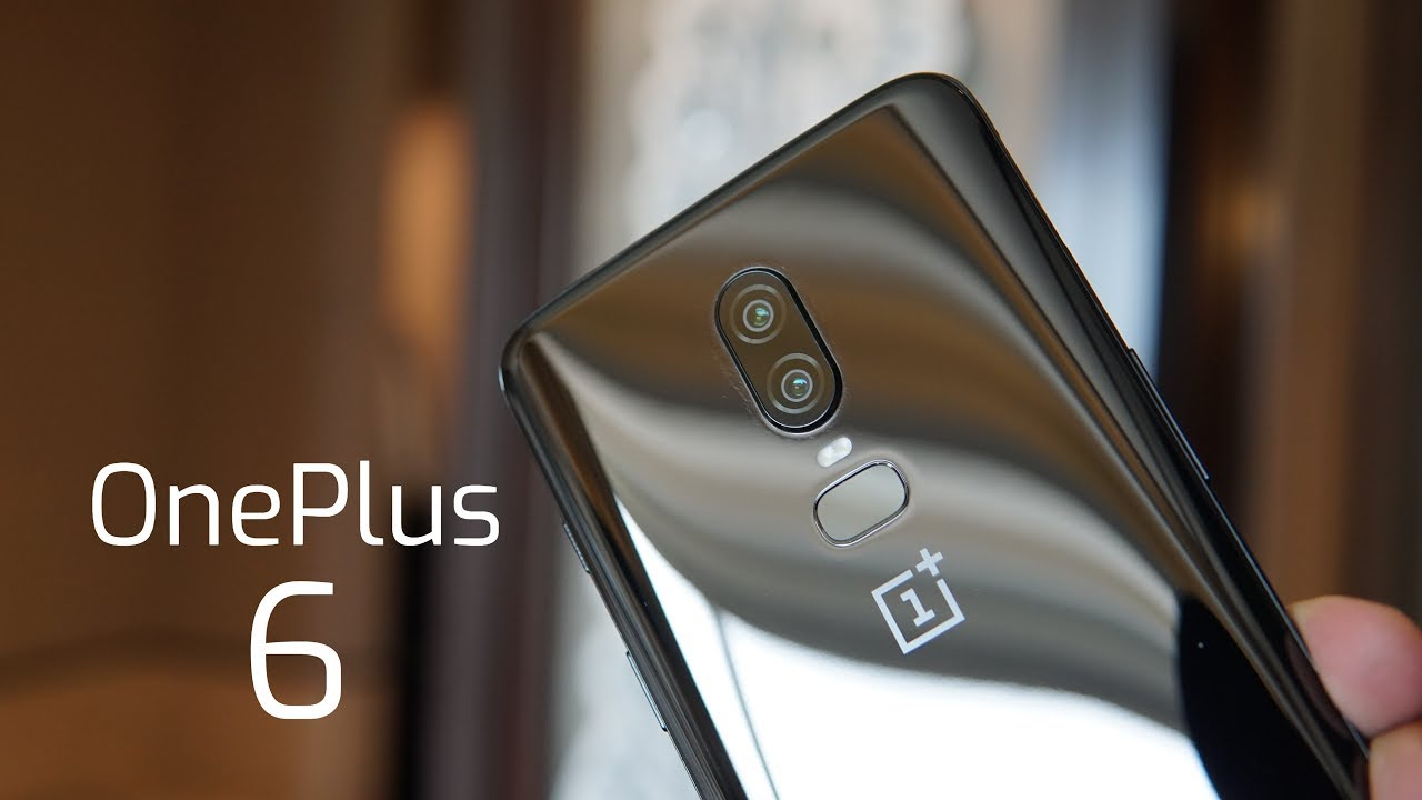 new arrival 773fa 41470 OnePlus 6 India Hands-on, First Impressions - Mirror Black!