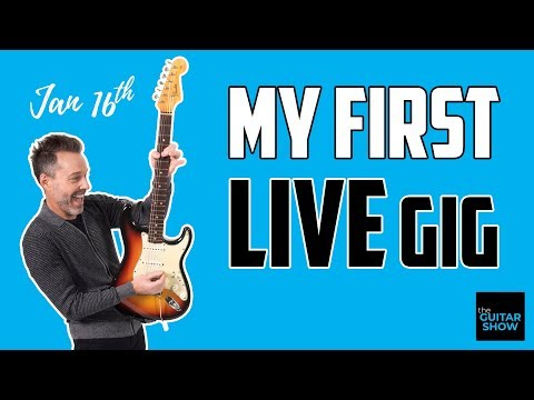 My First Live Gig (You Wouldn't Believe What It Was...) -  LIVE