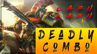 Explosive combo damage!!  How to play Lapu with his skill combo?? Full Gameplay | Mobile Legends