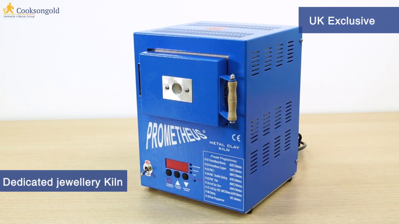 Introducing The Prometheus Mini Kiln Pro1 Prg Preset For Metal Clay