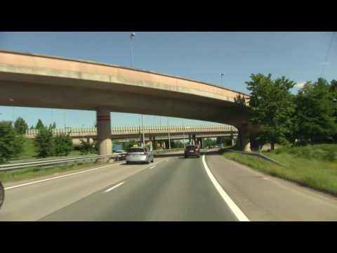 Finn about Finland when Driving through Helsinki. Финн о Финляндии, руля по Хельсинки (2398sp)