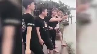 Hài   Hài Trung Quốc   Top những pha chơi khăm lầy lội