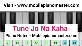 Tune jo Na Kaha Piano Tutorial|Piano Keyboard|Piano Lessons|Piano Music|learn piano Online|Mobile