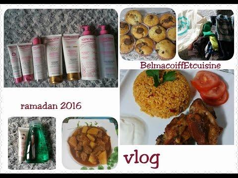 [Vlog] 3 jours avec moi et mes recettes Spécial Ramadan 2016