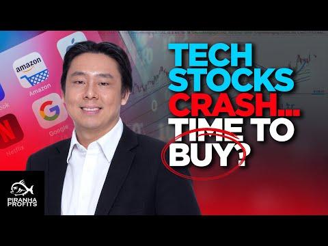 Tech Stocks Crash… Time To Buy?