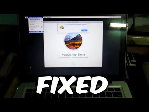 How to fix the recovery server could not be connected on Mac Book Pro