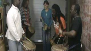 Mende cultural reheasal Belgium / sierra Leone Part 1