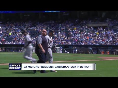 Former Marlins exec: Cabrera 'stuck in Detroit'
