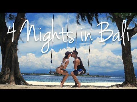 4 NIGHTS IN BALI | Uluwatu, Ubud, Gili Meno & Seminyak [2017]