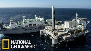 Суперсооружения: Морской космодром