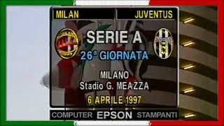 Serie A 1996-97, AC Milan - Juve (Full, IT)