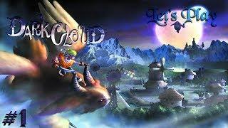 Dark Cloud (PS4) - Twitch Stream - Part 1 - Broken Dagger City