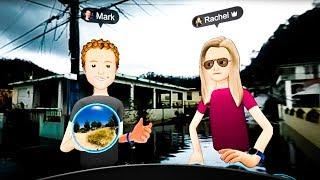 Bizarre Mark Zuckerberg Shows Tasteless VR