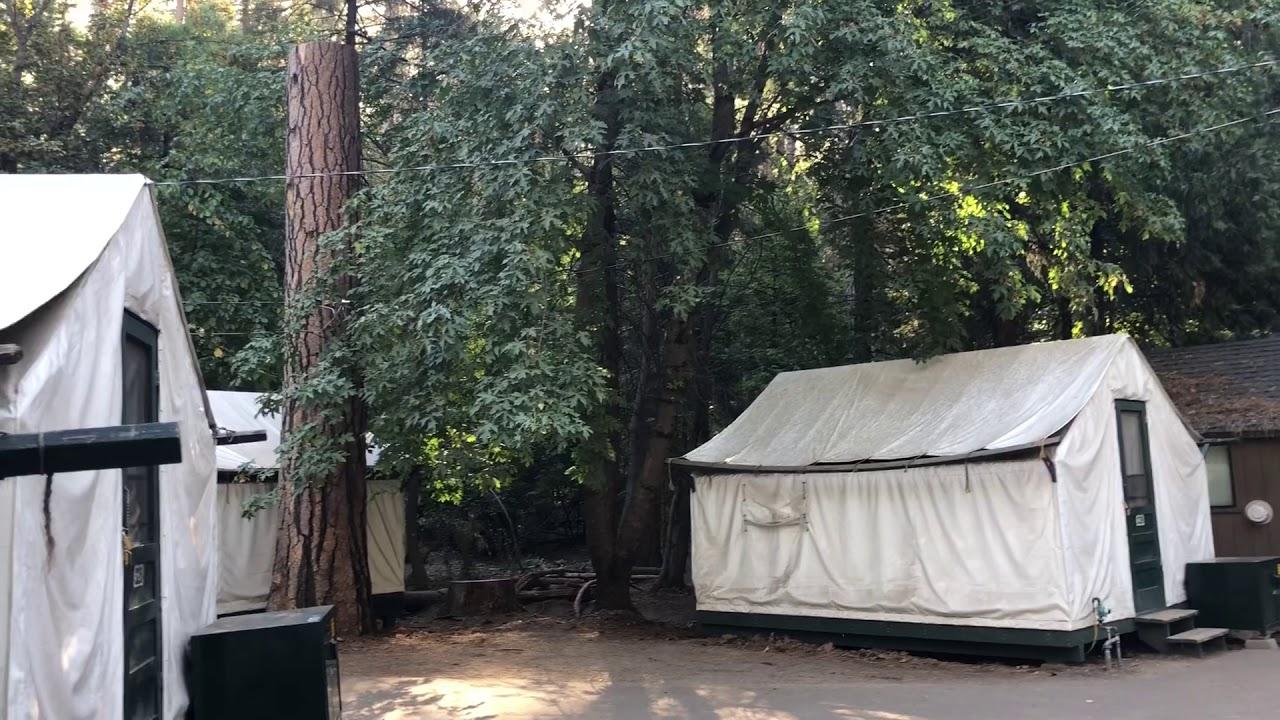Yosemite National Park Half Dome Village California USA C&ing - Heated tents & Yosemite National Park Half Dome Village California USA Camping ...
