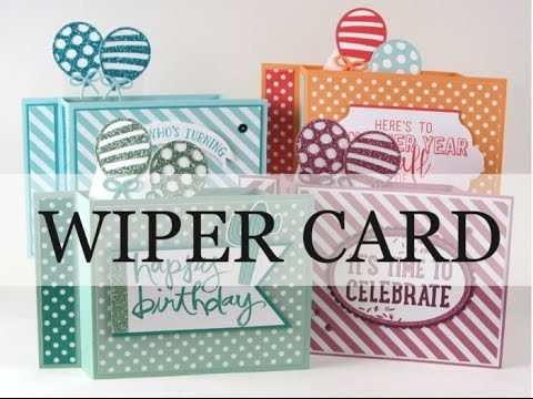 Image result for wiper card instructions