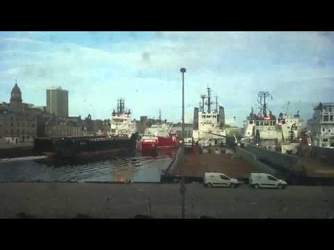 Two offshore vessels collided in Aberdeen