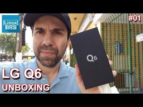 LG Q6 - Unboxing