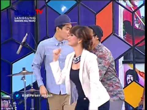 Zaskia - Sudah Cukup Sudah (Live GlobalTV 100% Ampuh 6 Maret 2013)