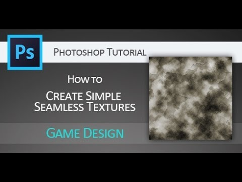 Quick Tip tutorial: Seamless textures with build-in filters in Adobe Photoshop