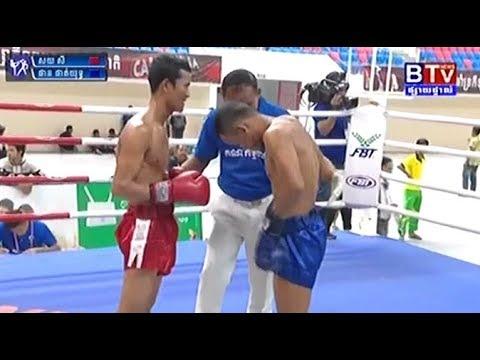 Phan Phatyuth vs Soy Sey, Khmer Boxing BTV 02 June 2018, National Game 2